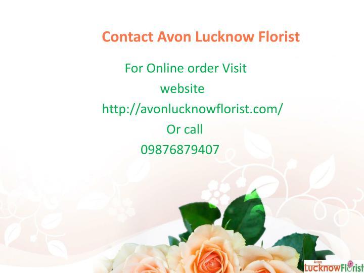 Contact Avon Lucknow Florist