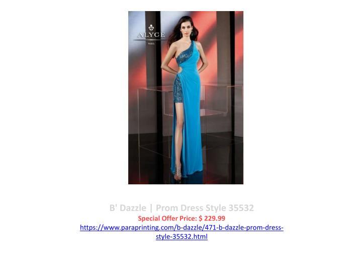B' Dazzle | Prom Dress Style 35532