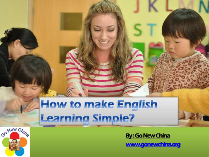 How to make English Learning Simple?