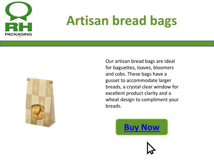 Artisan bread bags
