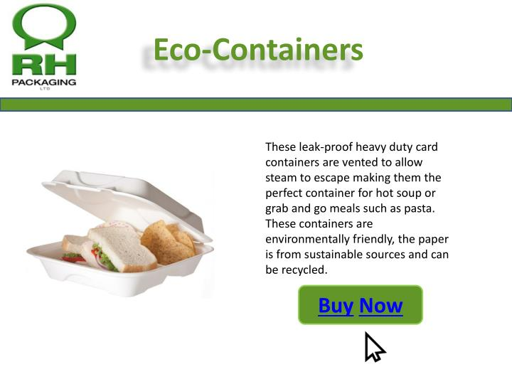 Eco-Containers