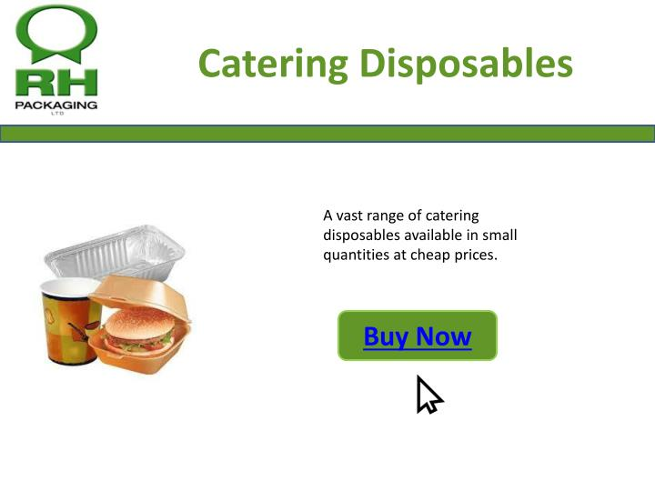Catering Disposables