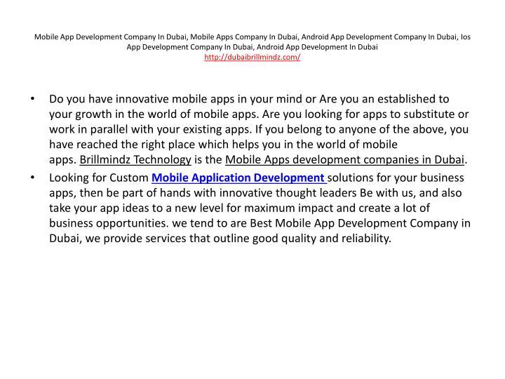 Mobile App Development Company In Dubai, Mobile Apps Company In Dubai, Android App Development Company In Dubai,