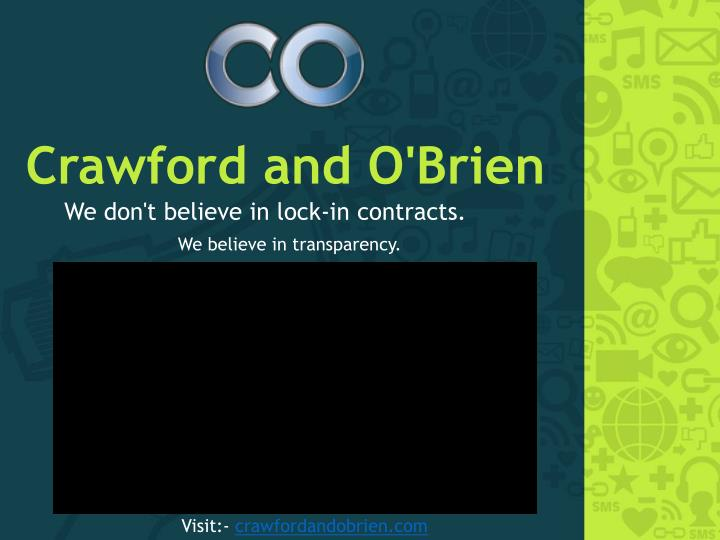 Crawford and o brien