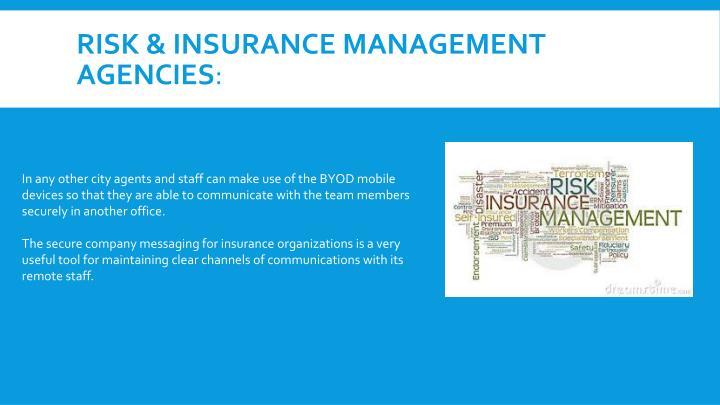 Risk & Insurance Management Agencies