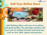 soft toys online store