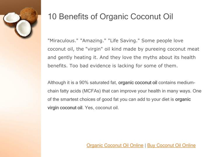 10 benefits of organic coconut oil1