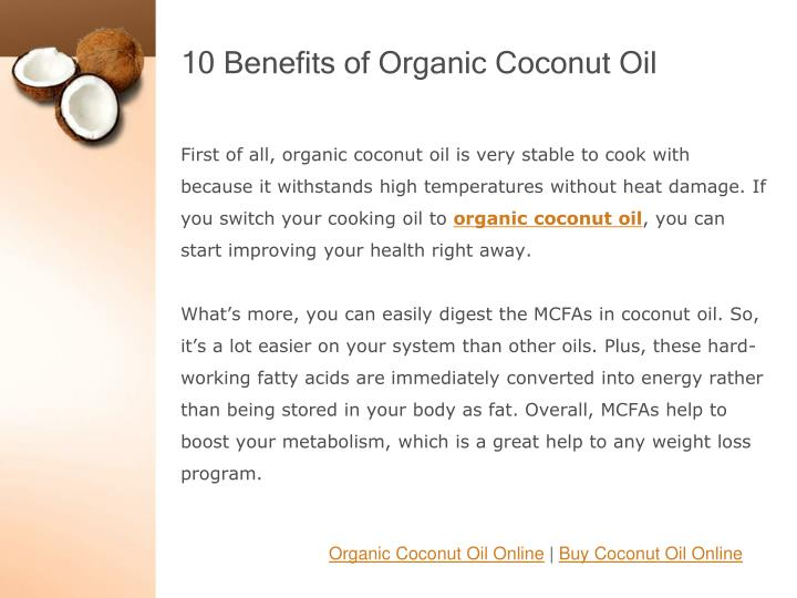 10 benefits of organic coconut oil2