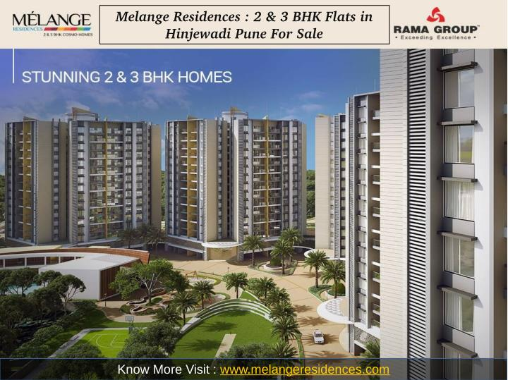 Melange Residences : 2 & 3 BHK Flats in