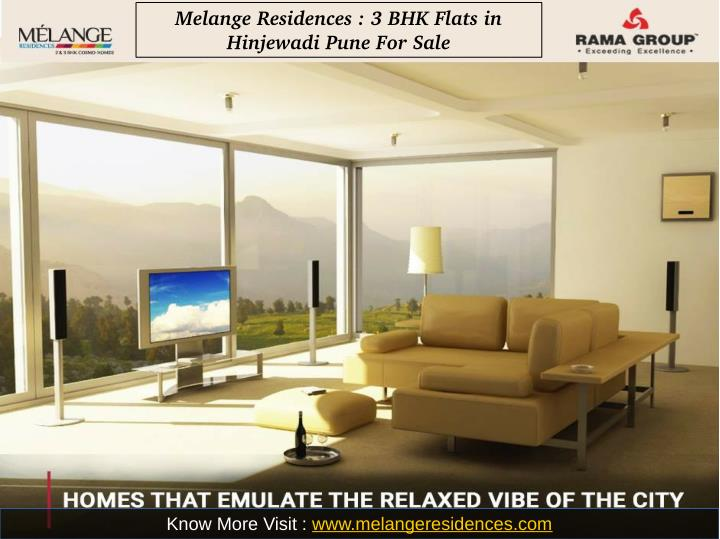 Melange Residences : 3 BHK Flats in