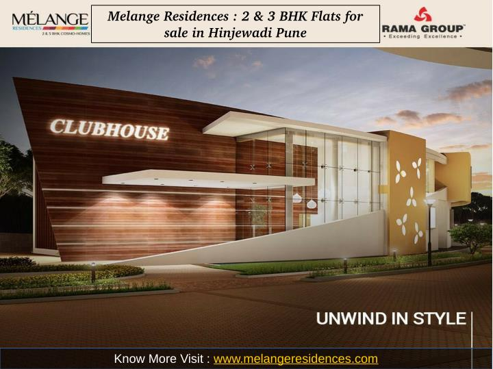 Melange Residences : 2 & 3 BHK Flats for