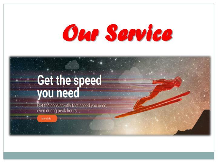 Our Service