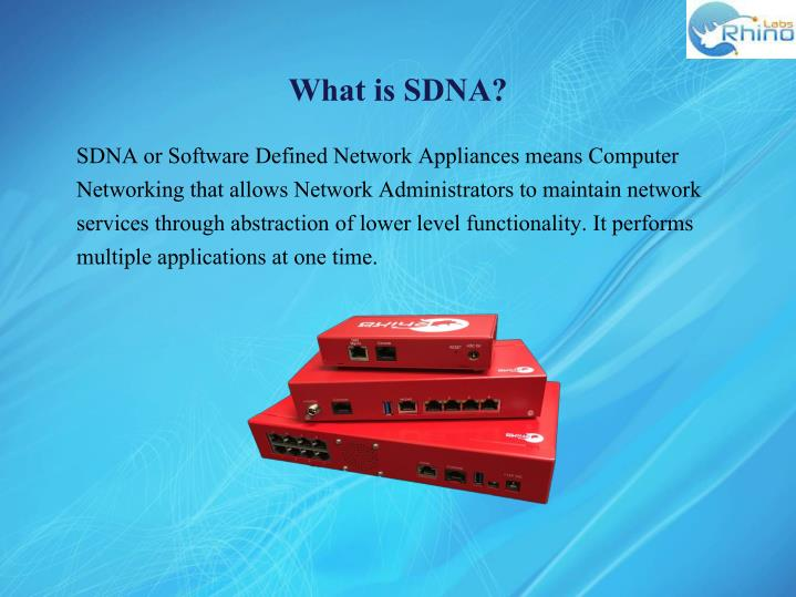 What is SDNA?