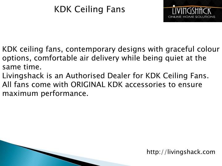 KDK Ceiling Fans