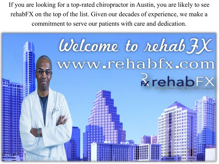 If you are looking for a top-rated chiropractor in Austin, you are likely to see