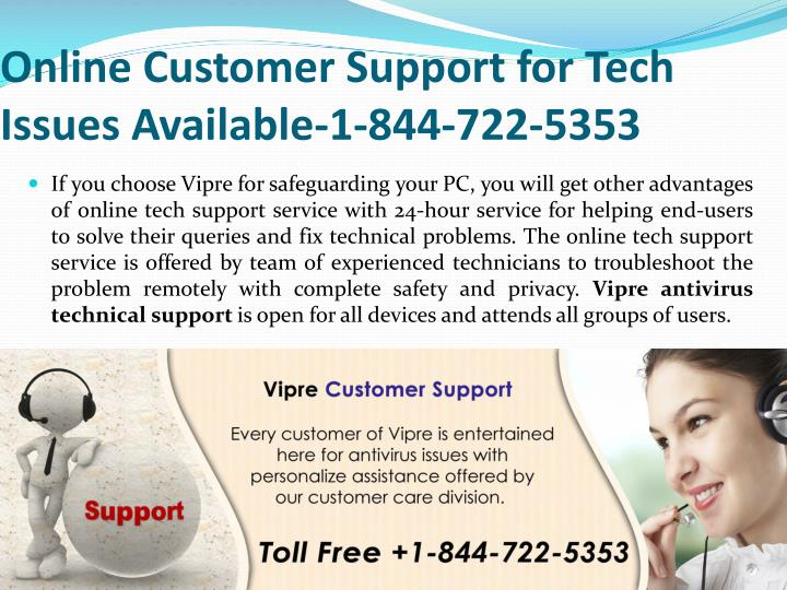 Online Customer Support for Tech Issues