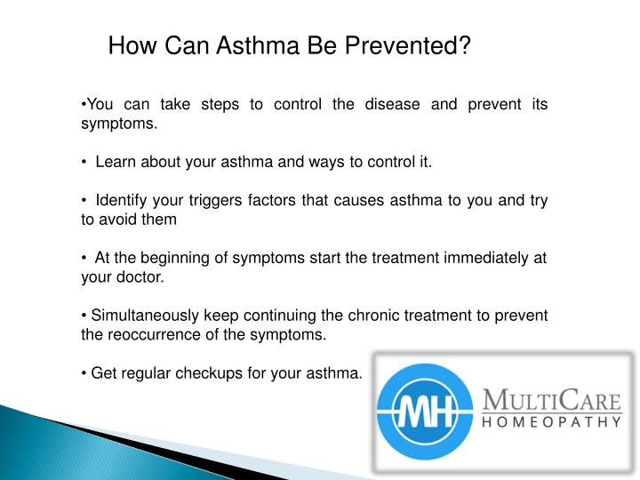 How Can Asthma Be Prevented?