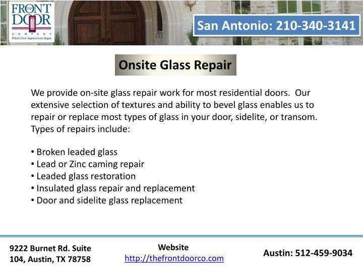 San Antonio: 210-340-3141