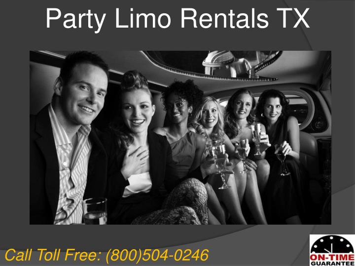 Party Limo Rentals TX