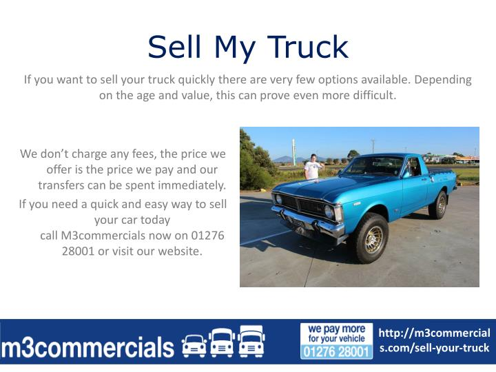Sell My Truck