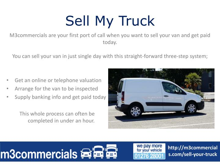 Sell my truck1
