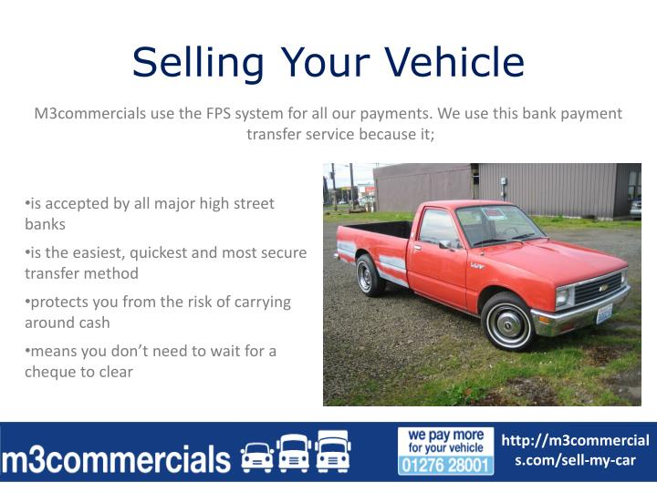 Selling your vehicle1
