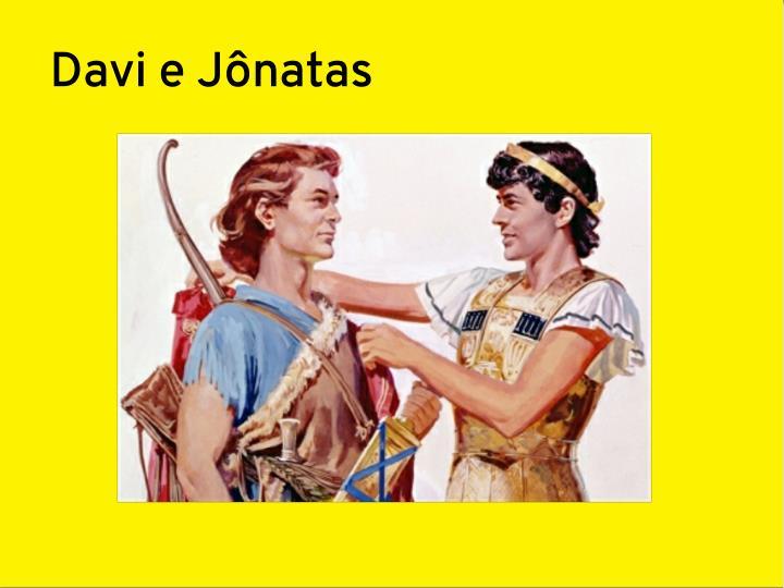 Davi e Jônatas