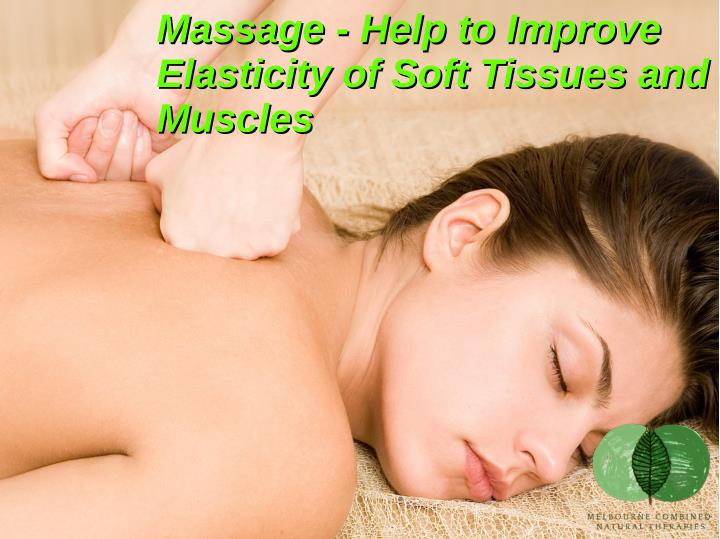 Massage - Help to Improve