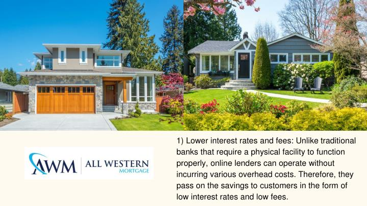 1) Lower interest rates and fees: Unlike traditional banks that require a physical facility to function properly, online lenders can operate without incurring various overhead costs. Therefore, they pass on the savings to customers in the form of low interest rates and low fees.