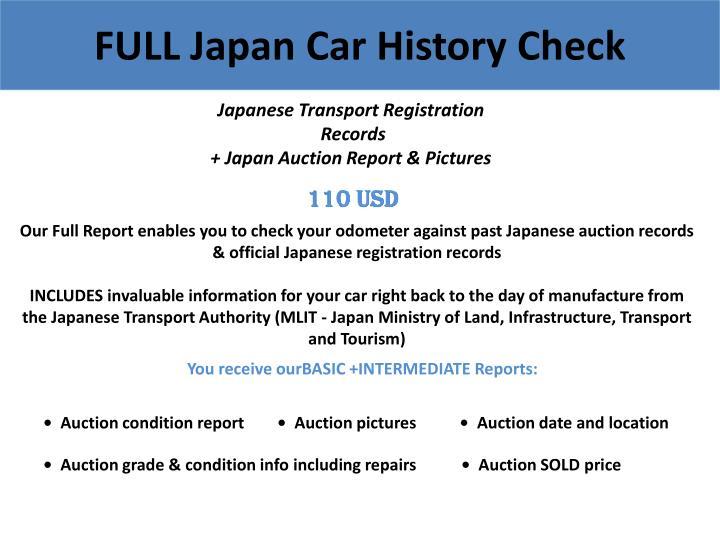 FULL Japan Car History