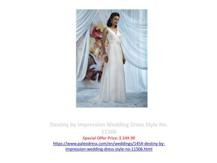 Destiny by Impression Wedding Dress Style No. 11506