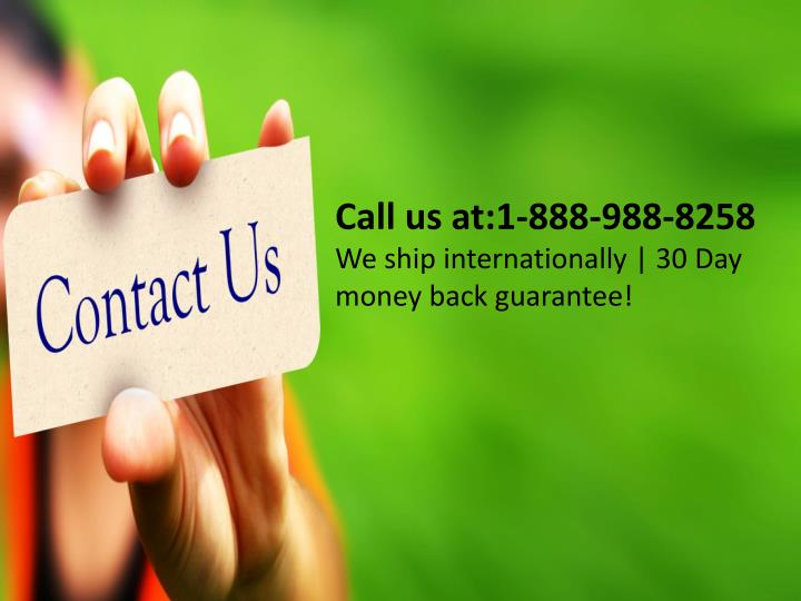 Call us at:1-888-988-8258