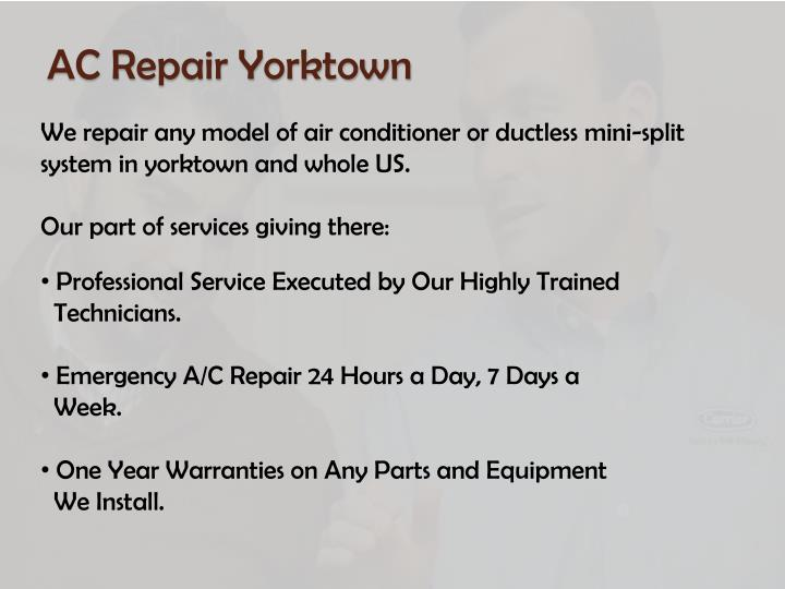AC Repair Yorktown
