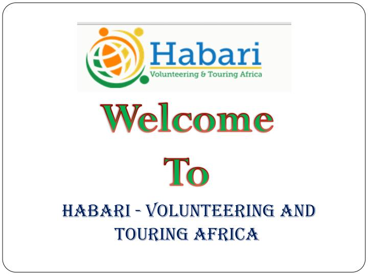 Habari - Volunteering and