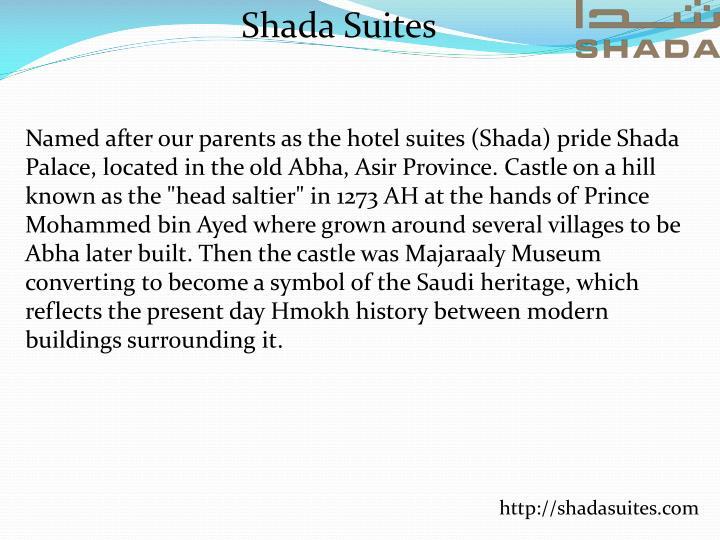 Shada Suites