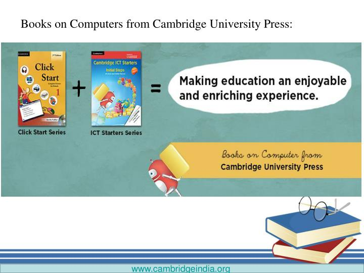 Books on Computers from Cambridge University Press: