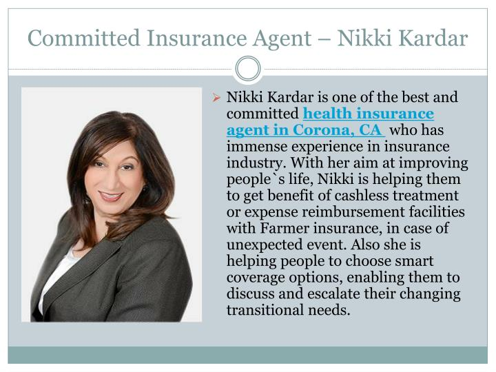 Committed Insurance Agent – Nikki