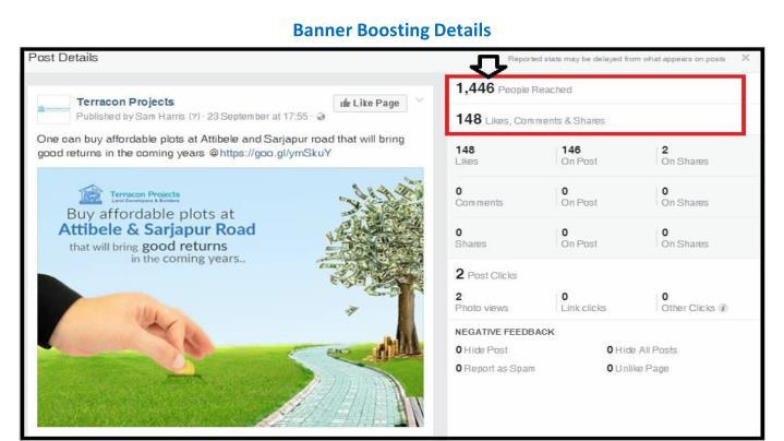 Banner Boosting Details