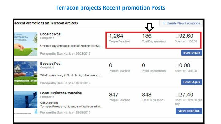 Terracon projects Recent promotion Posts