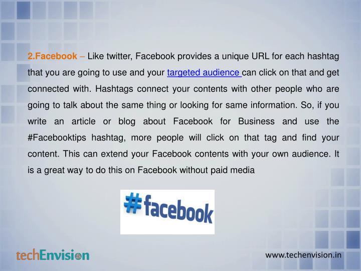 2.Facebook