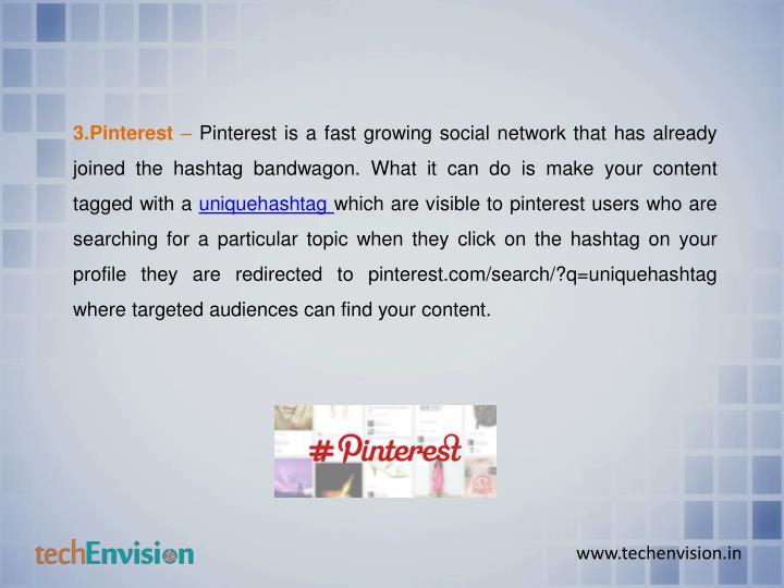 3.Pinterest
