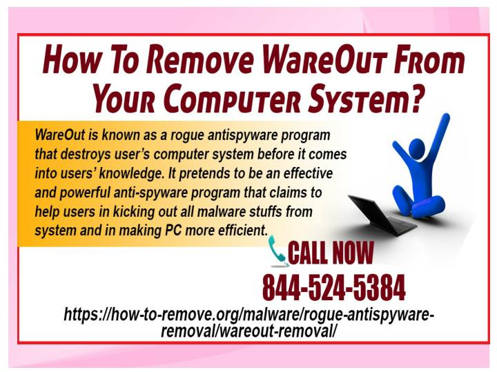 How to remove wareout from your computer system
