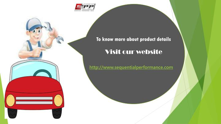 To know more about product details
