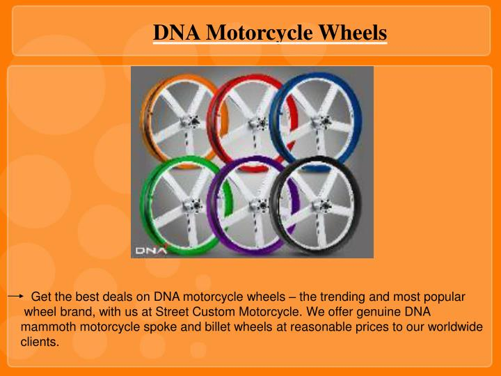 DNA Motorcycle Wheels