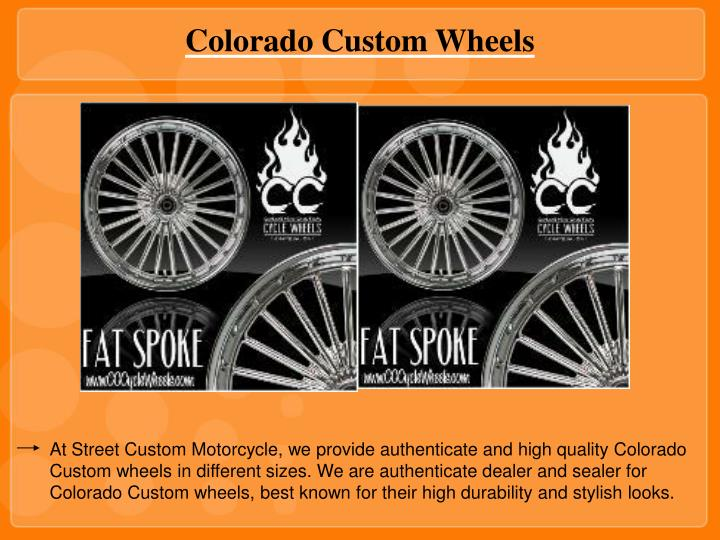 Colorado Custom Wheels