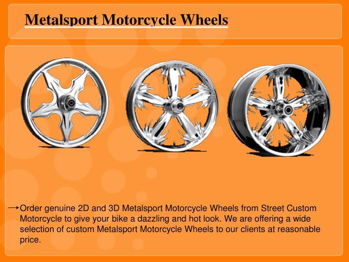 Metalsport Motorcycle Wheels