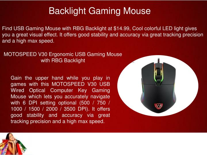 Backlight Gaming Mouse