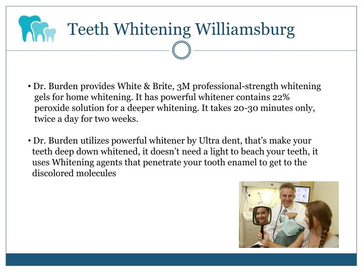 Teeth Whitening Williamsburg