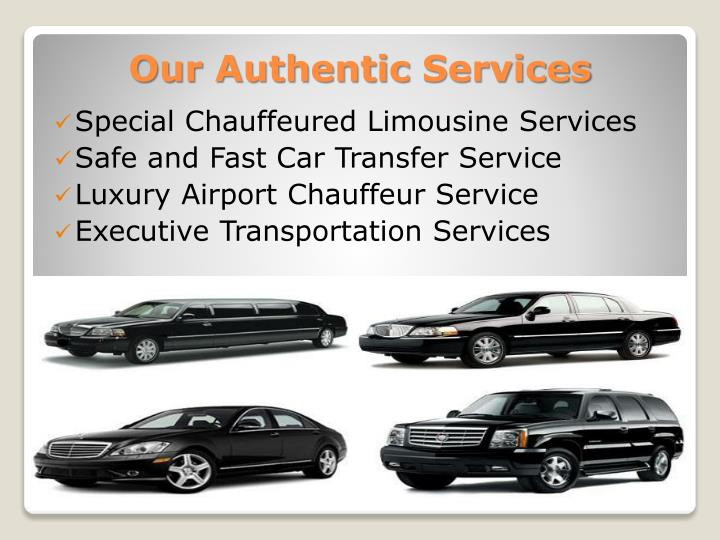 Our authentic services