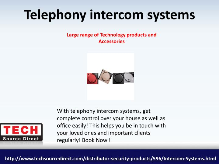 Telephony intercom systems